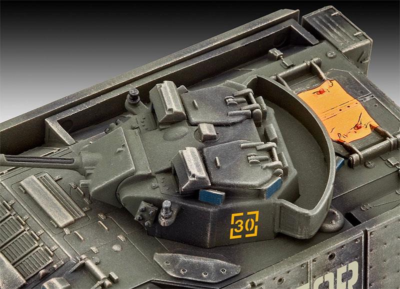 ウォーリア MCV 増加装甲プラモデル(レベル1/72 ミリタリーNo.03144)商品画像_3