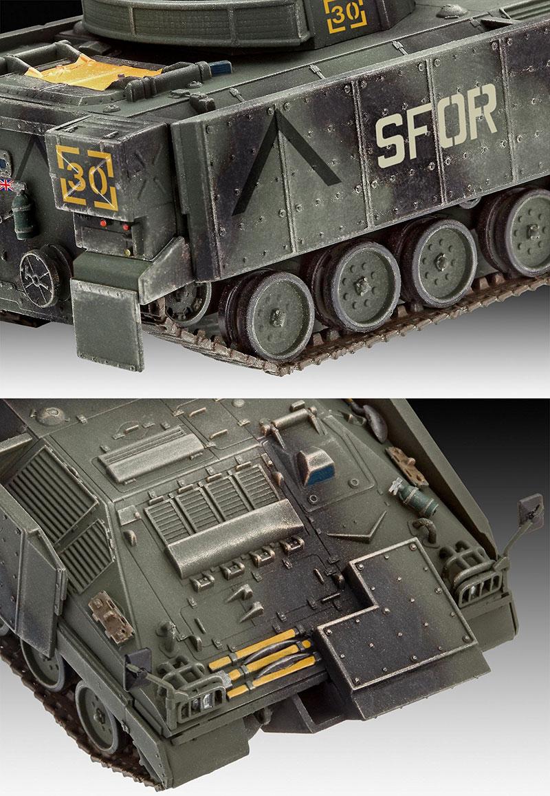 ウォーリア MCV 増加装甲プラモデル(レベル1/72 ミリタリーNo.03144)商品画像_4