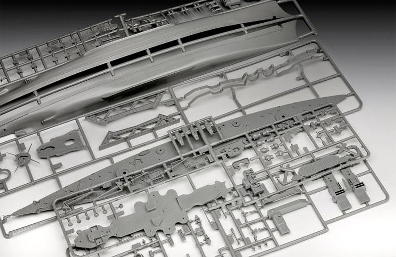 ドイツ戦艦 シャルンホルストプラモデル(レベルShips(艦船関係モデル)No.05037)商品画像_1