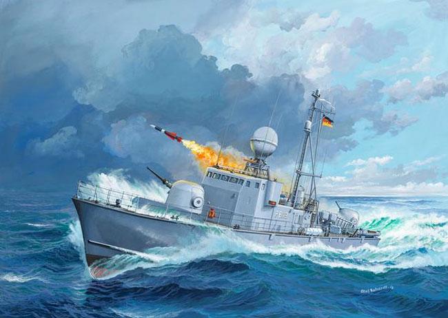 アルバトロス級 ミサイル艇プラモデル(レベル1/144 艦船モデルNo.05148)商品画像