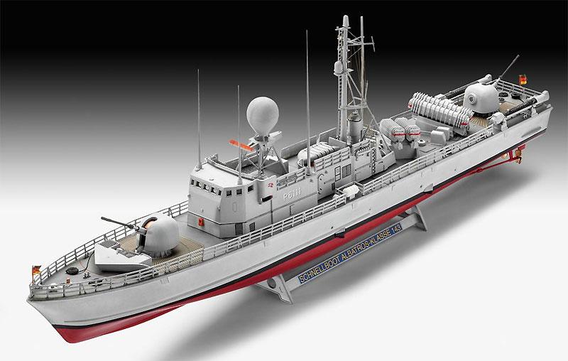 アルバトロス級 ミサイル艇プラモデル(レベル1/144 艦船モデルNo.05148)商品画像_2