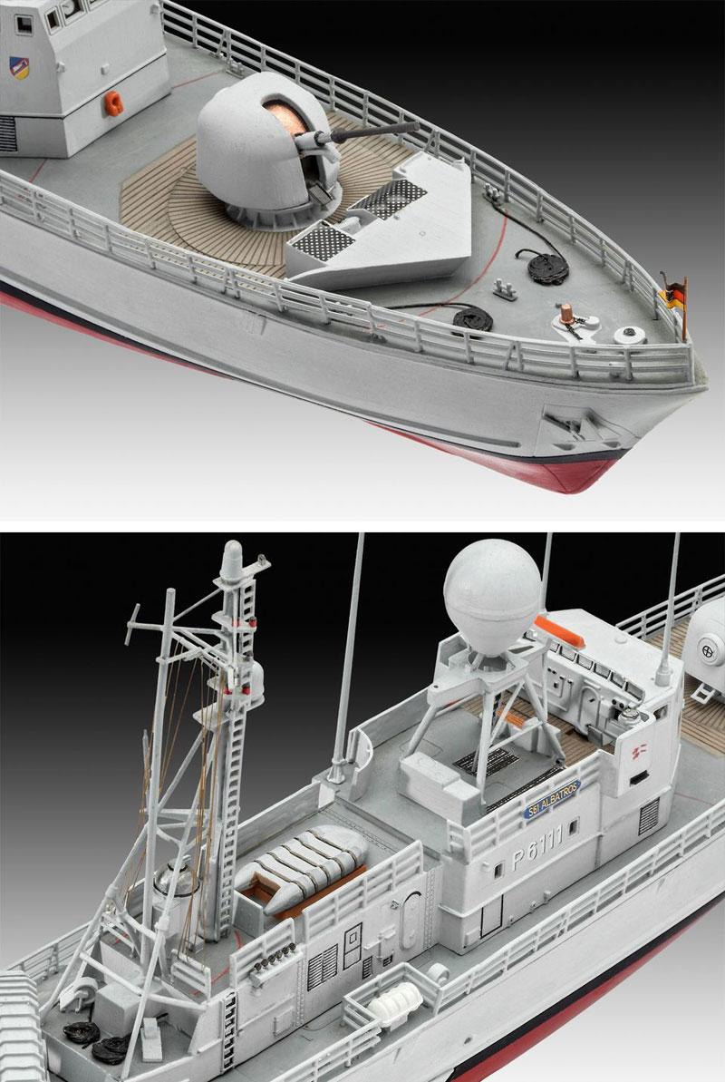 アルバトロス級 ミサイル艇プラモデル(レベル1/144 艦船モデルNo.05148)商品画像_3