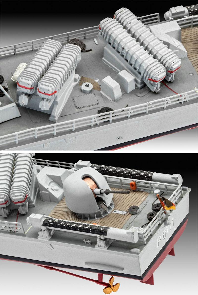 アルバトロス級 ミサイル艇プラモデル(レベル1/144 艦船モデルNo.05148)商品画像_4