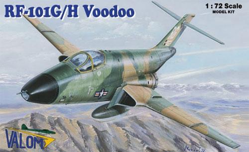 RF-101G/H ヴードゥープラモデル(バロムモデル1/72 エアクラフト プラモデルNo.72114)商品画像