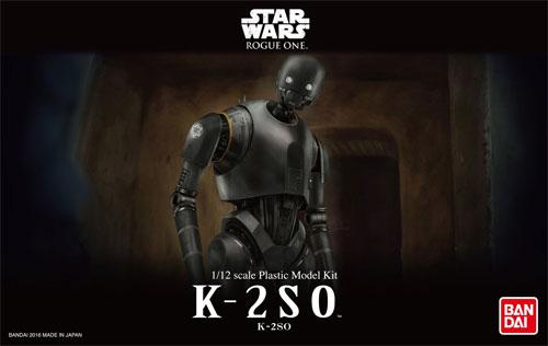 K-2SOプラモデル(バンダイスターウォーズNo.0209433)商品画像