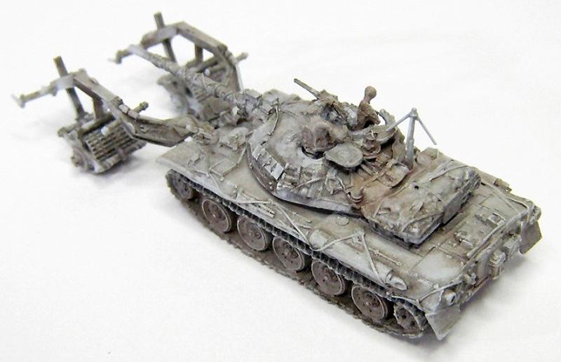 陸上自衛隊 評価支援部隊仕様 74式戦車レジン(マツオカステン1/144 オリジナルレジンキャストキット (AFV)No.MTUAFV-099)商品画像_3