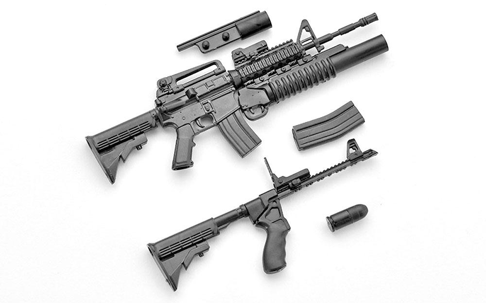 M4A1 & M203タイププラモデル(トミーテックリトルアーモリー (little armory)No.LA025)商品画像_1