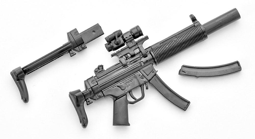 MP5 SD6タイププラモデル(トミーテックリトルアーモリー (little armory)No.LA026)商品画像_1