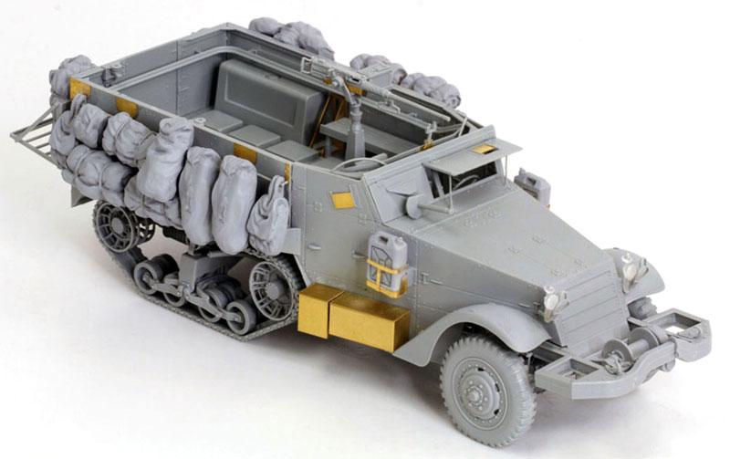 IDF M3 ハーフトラックプラモデル(ドラゴン1/35 MIDDLE EAST WAR SERIESNo.3569)商品画像_3