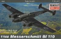 ミニクラフト1/144 軍用機プラスチックモデルキットドイツ メッサーシュミット Bf110