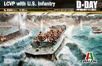 イタレリ1/35 ミリタリーシリーズ上陸用舟艇 LCVP w/アメリカ歩兵