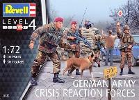 レベル1/72 ミリタリードイツ陸軍 危機対処部隊