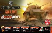 プラッツWORLD OF TANKSアメリカ 軽戦車 チャーフィー