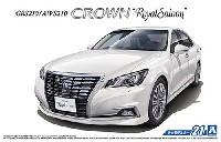 アオシマ1/24 ザ・モデルカートヨタ GRS210/AWS210 クラウン ロイヤルサルーンG '15