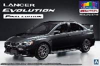 アオシマ1/24 プリペイントモデル シリーズミツビシ CZ4A ランサーエボリューション ファイナルエディション '15 (ファントムブラックパール)