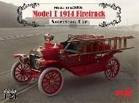 ICM1/24 カーモデルT型フォード 1914 消防車