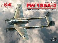 ICM1/72 エアクラフト プラモデルフォッケウルフ Fw189A-2