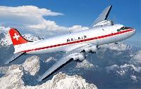 レベル1/72 飛行機DC-4 バルエアー/アイランド エアウェイズ