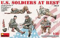 アメリカ軍歩兵 (休息中)