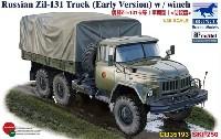 ブロンコモデル1/35 AFVモデルロシア Zil-131 カーゴトラック 初期型
