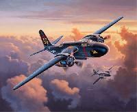 レベル1/72 飛行機P-70 ナイトホーク