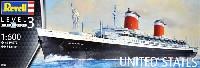 レベルShips(艦船関係モデル)客船 ユナイテッドステーツ