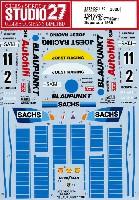 スタジオ27ツーリングカー/GTカー オリジナルデカールポルシェ 962C ブラウプンクト #2/#11 スーパーカップ 1989