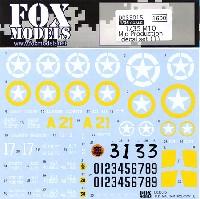 フォックスモデル (FOX MODELS)AFVデカールM10 駆逐戦車 中期型 デカールセット (1)