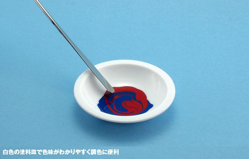 白い塗料皿 (6枚入) (1) 深丸底皿(ウェーブマテリアルNo.OM-182)商品画像_2