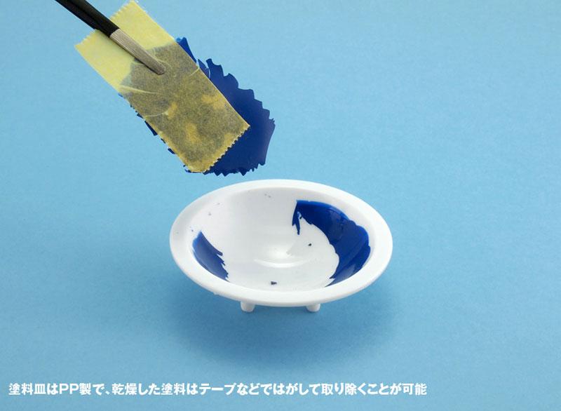 白い塗料皿 (6枚入) (1) 深丸底皿(ウェーブマテリアルNo.OM-182)商品画像_4