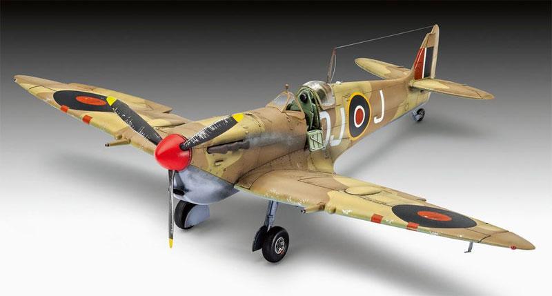 スーパーマリーン スピットファイア Mk.5cプラモデル(レベル1/48 飛行機モデルNo.03940)商品画像_2
