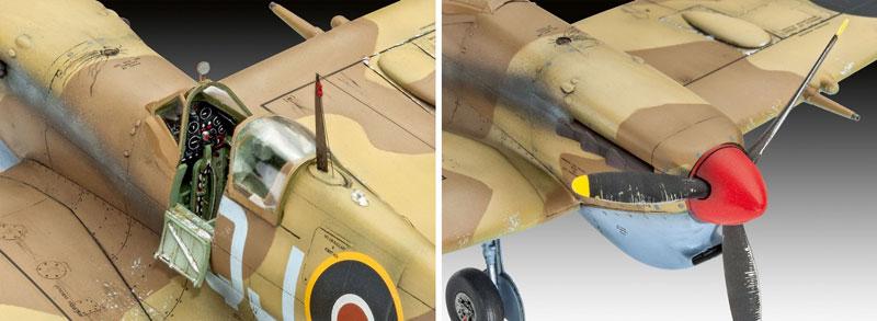 スーパーマリーン スピットファイア Mk.5cプラモデル(レベル1/48 飛行機モデルNo.03940)商品画像_3