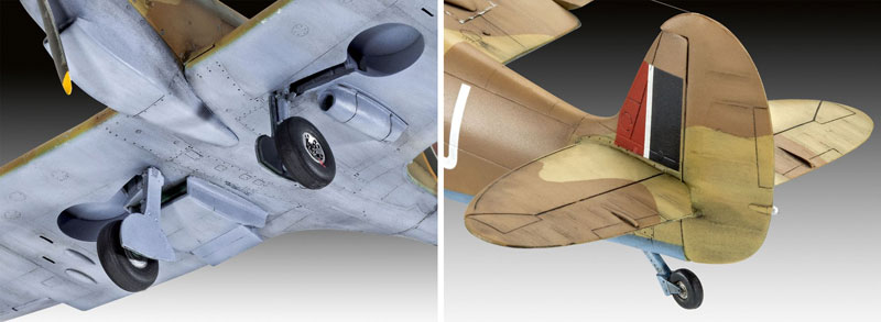 スーパーマリーン スピットファイア Mk.5cプラモデル(レベル1/48 飛行機モデルNo.03940)商品画像_4