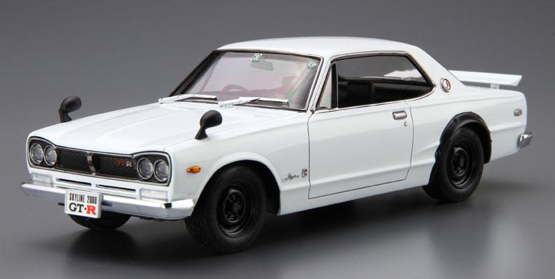 ニッサン KPGC10 スカイライン HT2000 GT-R '71プラモデル(アオシマ1/24 ザ・モデルカーNo.026)商品画像_2