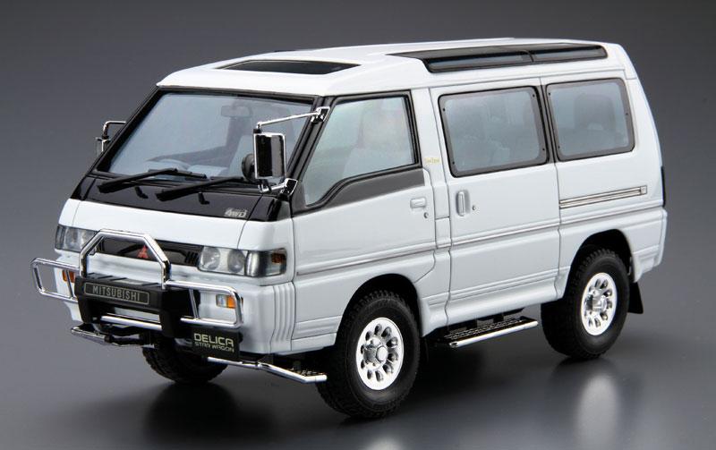 ミツビシ P35W デリカ スターワゴン '91プラモデル(アオシマ1/24 ザ・モデルカーNo.027)商品画像_2