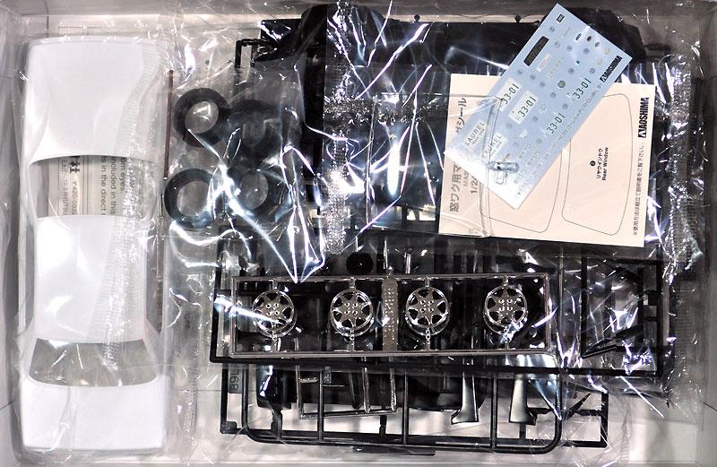 ニッサン HC33 ローレル メダリスト CLUB・L '91プラモデル(アオシマ1/24 ザ・モデルカーNo.028)商品画像_1