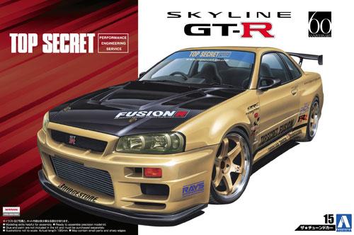 トップシークレット BNR34 スカイライン GT-R