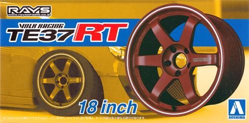 ボルクレーシング TE37 RT (18インチ)プラモデル(アオシマザ・チューンドパーツNo.024)商品画像