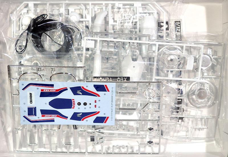 ホンダ CBX400F トリコロールプラモデル(アオシマ1/12 バイクNo.031)商品画像_1