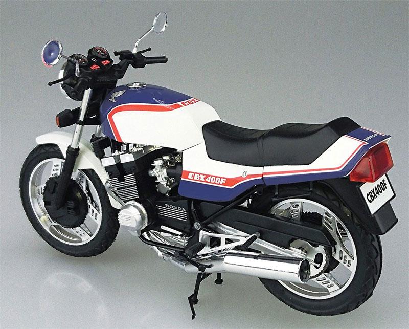 ホンダ CBX400F トリコロールプラモデル(アオシマ1/12 バイクNo.031)商品画像_3