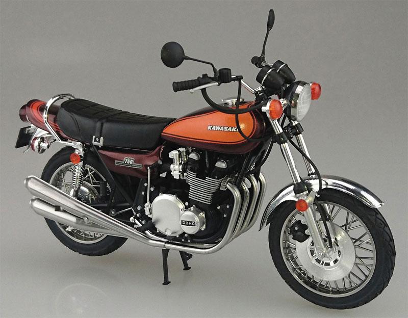 カワサキ 750RS (Z2) カスタムパーツ付きプラモデル(アオシマ1/12 バイクNo.032)商品画像_2