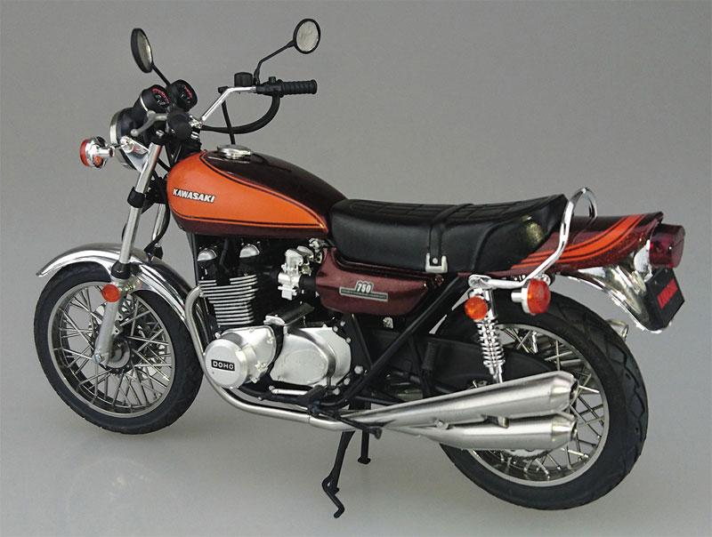カワサキ 750RS (Z2) カスタムパーツ付きプラモデル(アオシマ1/12 バイクNo.032)商品画像_3