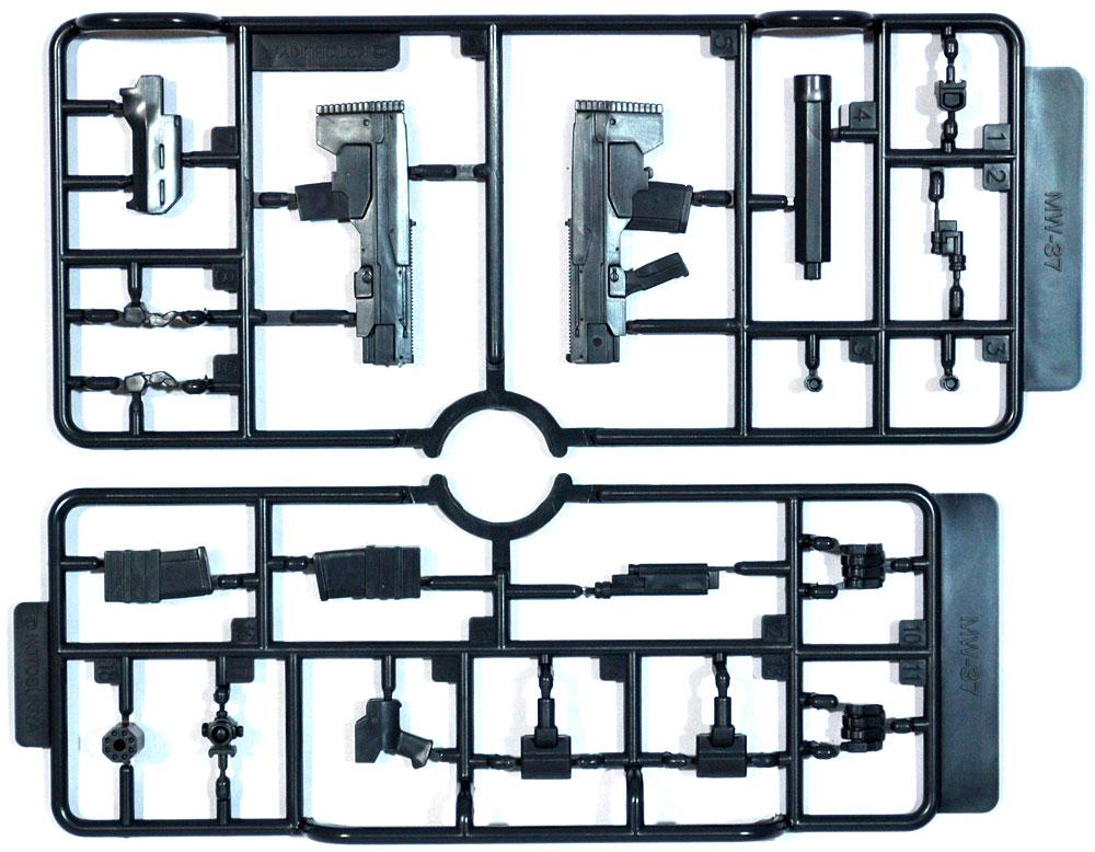 アサルトライフル 2プラモデル(コトブキヤM.S.G モデリングサポートグッズ ウェポンユニットNo.MW-037)商品画像_1