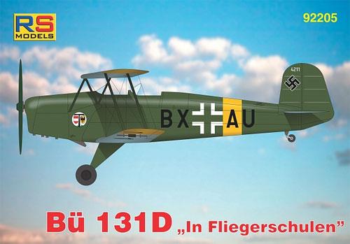 ビュッカー Bu131D 飛行教導隊プラモデル(RSモデル1/72 エアクラフト プラモデルNo.92205)商品画像