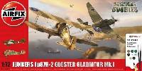 ユンカース Ju87R-2 & グロスター グラディエーター Mk.1 ドッグファイトセット