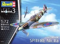 レベル1/72 飛行機スーパーマリーン スピットファイア Mk.2a