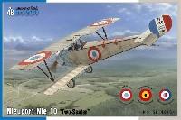 スペシャルホビー1/48 エアクラフト プラモデルニューポール Nie10 複座汎用機