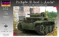 マコ1/72 AFVキットドイツ Pz.Kpfw.2 Ausf.L ルクス偵察戦車 増加装甲