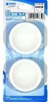 ウェーブホビーツールシリーズ白い塗料皿 (6枚入) (1) 深丸底