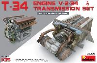T-34エンジン (V-2-34) & トランスミッションセット